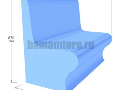 Сиденье Комодо для хамама